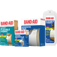 Print a coupon for $0.50 off a Band-Aid Adhesive product