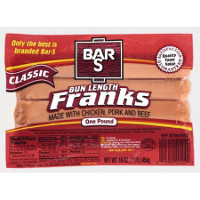 Save $1 on three package of Bar-S Franks