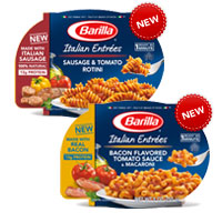 Save 75 cents on two Barilla Italian-Style Entree, any variety