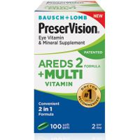 Print a coupon for $5 off any Bausch + Lomb PreserVision Eye Vitamin and Mineral Supplement AREDS 2 Formula