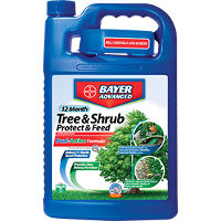 Save $3 on any Bayer Advanced 12 Month Tree and Shrub Protect and Feed Product