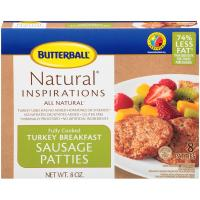 Print a coupon for $0.55 off Butterball All Natural Fully Cooked Breakfast Sausage