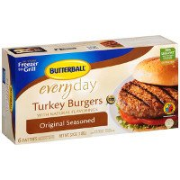 Save $1 on one package of Butterball Frozen Turkey Burgers