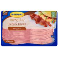 Print a coupon for $0.55 off a pack of Butterball Turkey Bacon