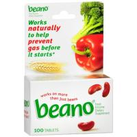 Print a coupon for $3 off any Beano product, 100 ct. or larger