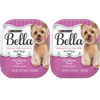 BOGO - Buy one 3.5oz tray of Purina Bella Small Dog Filet Mignon in Savory Juices Dog Food, get one free