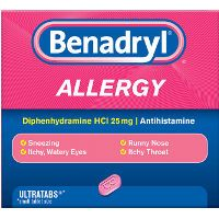 Print a coupon for $1 off one Benadryl product