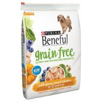 Print a coupon for $2 off a bag of Purina Beneful Grain Free or Select Dry Dog Food