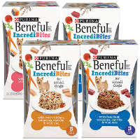 Print a coupon for $1 off four sleeves of Beneful Wet Dog Food