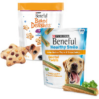 Save $1.50 on any two Purina Beneful Brand Dog Treats