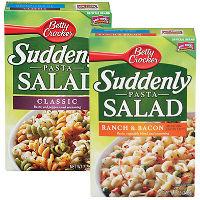Save $0.50 on any two boxes of Betty Crocker Suddenly Salad Mixes