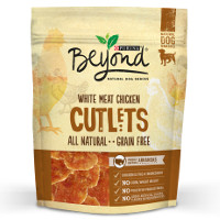 Print a coupon for $1.25 off one bag of Purina Beyond Dog Snacks