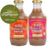 BOGO - Buy one bottle of Iced Bhakti Chai, get one free