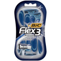 Print a coupon for $3 off a pack of BIC Flex3 Razors