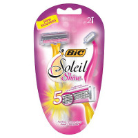 Print a coupon for $3 off BIC Soleil Shine Disposable Razors