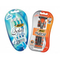 Save $5 on 2 packs of BIC Disposable Razors