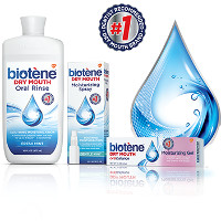 Print a coupon for $1.50 off one Biotene Spray, Gel or Toothpaste product