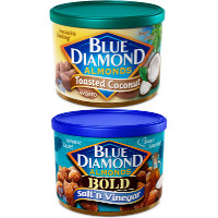 Save $2 on any two containers of Blue Diamond Almonds, 5oz or larger