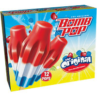 Save $0.75 on any box of Bomb Pop Frozen Novelties