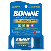 Print a coupon for $1.50 off one Bonine 12ct. or 16ct. product