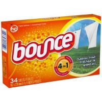 Print a coupon for $0.75 off any 34-60 count Bounce product