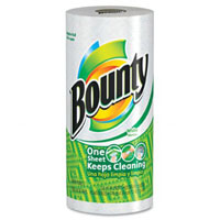 Save $0.25 on a roll of Bounty Paper Towels