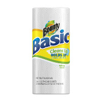 Save $0.50 on one roll of Bounty Basic Paper Towels