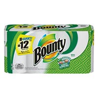 Save 25 cents on One Roll of Bounty Paper Towels