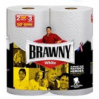 Save $2 on Brawny Paper Towels - One package of 12 Big Rolls