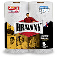 Save $0.25 on Brawny Paper Towels