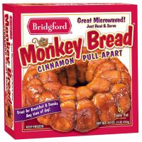 Save $0.55 on any package of Bridgford Frozen Rolls, Monkey Rolls or Bread dough