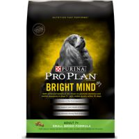 Print a coupon for $3 off one bag of Purina Pro Plan brand Dog Food Bright Mind formula