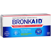 Print a coupon for $1.50 off any Bronkaid Product