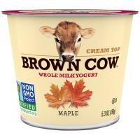 Print a coupon for $0.50 off one cup of Brown Cow Yogurt