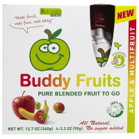 BOGO - Buy 5 Buddy Fruits Pouches of Buddy Fruits and Get One Free
