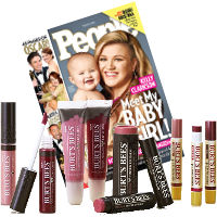 Save $2 when you purchase People Magazine and any Burt's Bees Lip Color Product