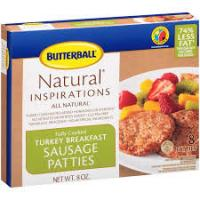Print a coupon for $0.75 off one package of Butterball Fully Cooked Breakfast Sausages