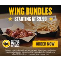 Get Free Delivery from Buffalo Wild Wings