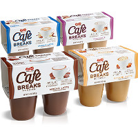 Print a coupon for $0.50 off any 4-pack of Cafe Breaks Latte pudding