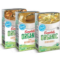 Save $1 on one Campbell's Organic Soup