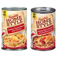 Save $0.40 on four cans of Campbell's Homestyle Soups