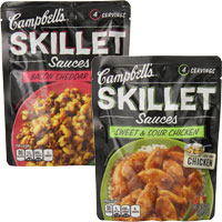 Save $1 on two Campbell's Skillet, Slow Cooker or new Oven Sauces