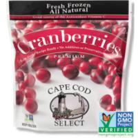 Print a coupon for $1 off one package of Cape Cod Select Cranberry Frozen Fruit