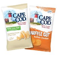 Print a coupon for $1 off two bags of Cape Cod Potato Chips
