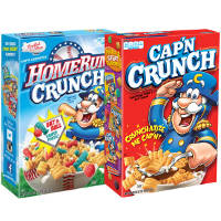Print a coupon for $1 off any two boxes of Cap'n Crunch Cereal