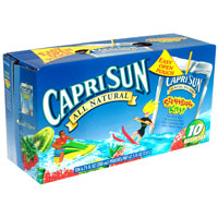 Save $0.75 on one case of Capri Sun Juice Drinks