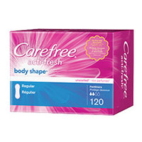 Print a coupon for $0.50 off any Carefree product