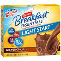 Print a coupon for $2 off two packages of Carnation Breakfast Essentials Powder Drink Mix