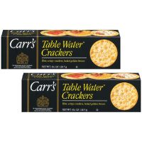 Print a coupon for $1.25 off two boxes of Carr's Crackers
