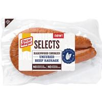 Save $1 on Oscar Mayer Selects Dinner Sausage